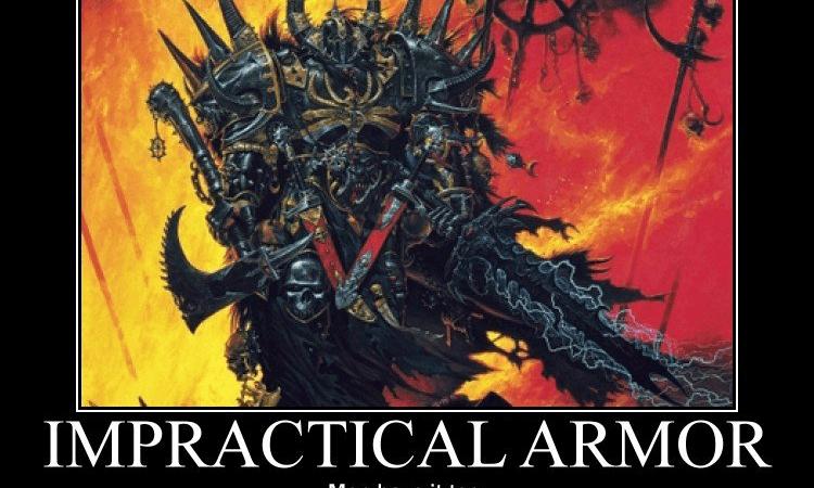 Impractical Armor – Male Version