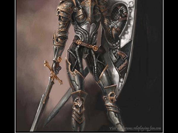 Eberron 5e: The Warforged Female